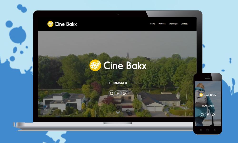 webdesign cinebakx videomaker