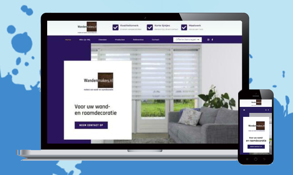 webdesign laten maken wandenmakers